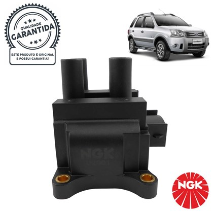 Bobina de Ignição NGK U2001 (Ford Fiesta / Focus / Ecosport) - Cód.2559