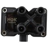 Bobina de Ignição NGK U2008 (Ford Fiesta / Ka / Courier / Ecosport) - Cód.2837