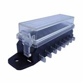 Caixa para 8 Fusíveis tipo Lamina com Entrada Lateral ETE8538 - Cód.6012