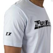 Camiseta Fueltech Branca Emborrachada Unissex Tam. XG - Cód.7500