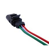 Chicote 3 Vias ETE9752 Reparo Sensor de Pressão Ar Condicionado VW Gol - Cód.6029