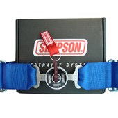 Cinto de Segurança Simpson 5 pontas Azul 29102 - Cód.1188