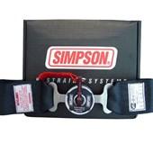 Cinto de Segurança Simpson 5 pontas Preto 29102 - Cód.1187