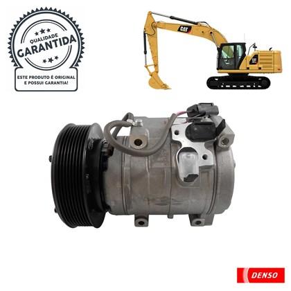 Compressor Denso 437100-5031RC (10S17C) Caterpillar - Cód.4065