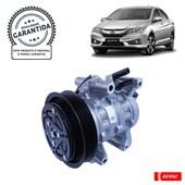 Compressor Denso BC447140-4800RC Honda Fit / City (14>) - Cód.4096