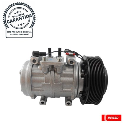 Compressor Denso BC447190-1620RC (10P15 Passante / 24V / Canal 9PK) - Cód.4060