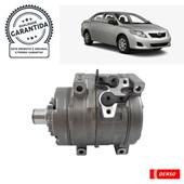 Compressor Denso BC447280-13009C (10S15) Toyota Corolla 1.8/2.0 (08>) - Cód.4071