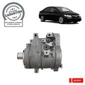 Compressor Denso BC447280-26002C (10S15) Honda Civic 1.8/2.0 (06>11) - Cód.4072