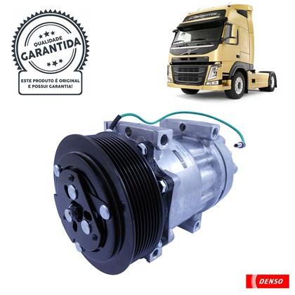 Compressor Denso YN437190-0680RC (Volvo FH380 / FH400 / FH440 / FH480 / FH520) - Cód.4085