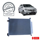 Condensador Ar Condicionado Denso DI261433-0380RC Honda City 1.5 - Cód.5751