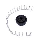 Conector Circular Fêmea ETE7566/24 tipo CPC 24 Vias - Cód.5795