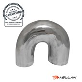 Curva de Alumínio U 3 x 2 1/2 pol. - Cód.2541