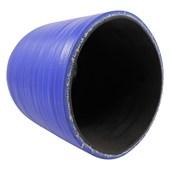"""Curva de Silicone Azul de 90º x 3 3/4"""" - Cód.3191"""