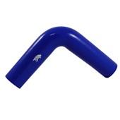 """Curva Tipo L de Silicone Azul para Pressurização 90º X 2.0"""" - Cód.269"""
