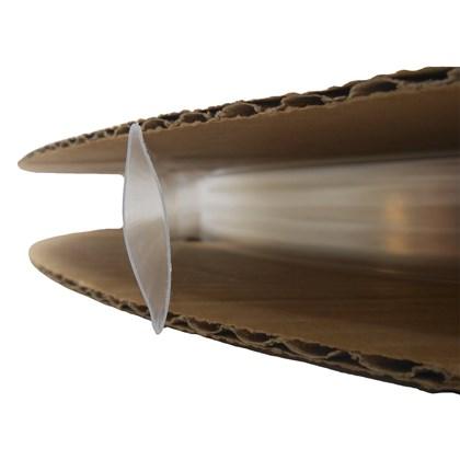 Espaguete Termo Retrátil Transparente 19,00mm - Cód.6902
