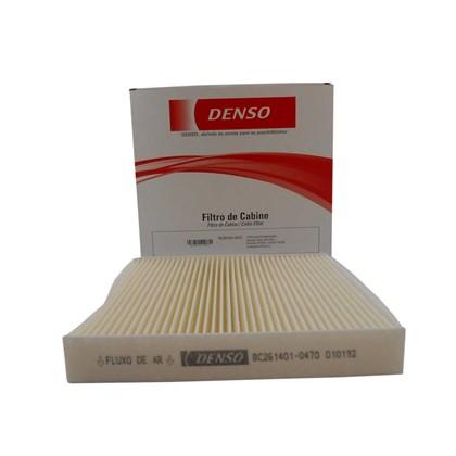 Filtro de Cabine Denso BC261401-0470RC Toyota Corolla / Hilux / RAV4 - Cód.3137