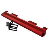 Flauta Fluxo Cruzado Vermelha - Cód.595