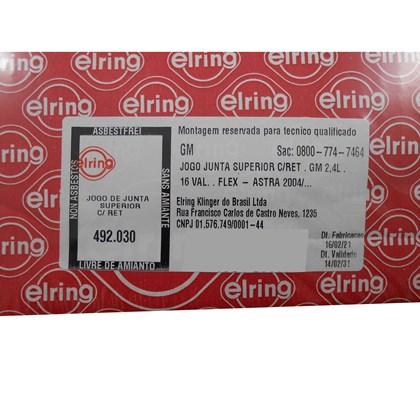 Jg Juntas Sup. c/ Ret. 492.030 GM Vectra 2.4 16V - Cód.7444
