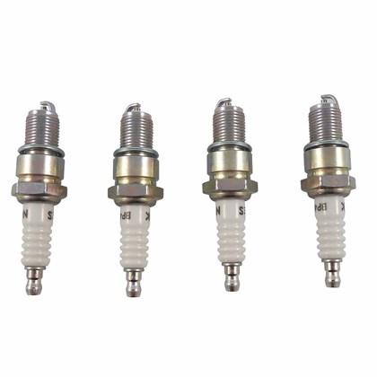 Jogo de Velas de Ignição BP4ES (VW Fusca 1300 / 1600 Rosca Longa Gasolina) - Cód.2767