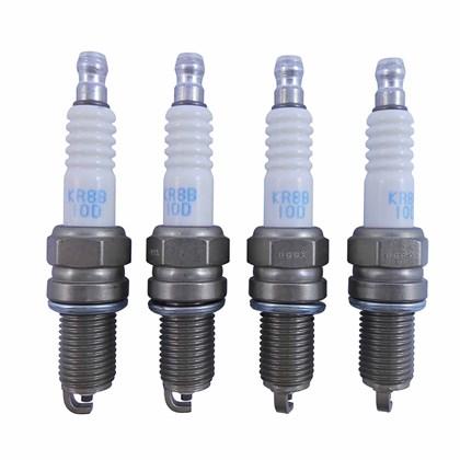Jogo de Velas de Ignição NGK KR8B-10D (Fiat Etorq 1.6/1.8 16V) - Cód.2166