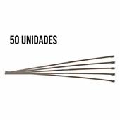 Kit 50 Abraçadeiras Zip Tie Inox 400mm - Cód.6887