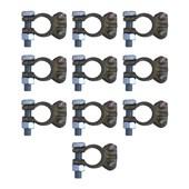 Kit com 10 Terminais Sapinho Polo Positivo de Bateria ETE9739 - Cód.6026