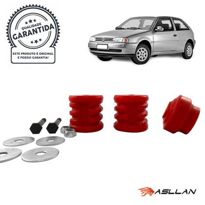 Kit Coxim Lateral e Frontal PU para Volkswagen AP - Cód.6947