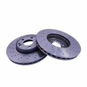 Kit Disco de Freio BD0120 Diant. Mercedes-Benz A200, B200, A45 AMG - Cód.4261