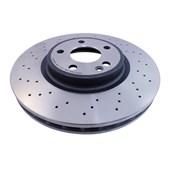 Kit Disco de Freio BD1018 Diant. Perfurado Mercedes-Benz A250, CLA250 / GLA250 - Cód.3584