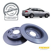 Kit Disco de Freio BD1067 Tras. Honda City, Fit 1.5 16V - Cód.3587