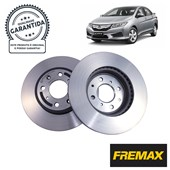 Kit Disco de Freio BD1256 Diant. Honda City, Fit, WRV 1.5 - Cód.3591