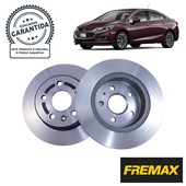 Kit Disco de Freio BD1564 Tras. GM Cruze 1.4 Turbo (17...) - Cód.3595
