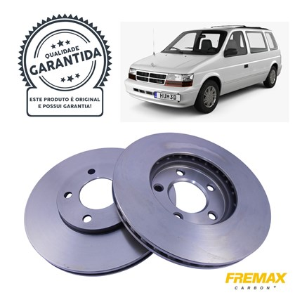 Kit Disco de Freio BD5346 Diant. Chrysler Caravan 2.4/3.3 - Cód.5298