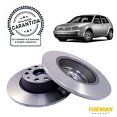 Kit Disco de Freio BD5619 Tras. VW Golf / Passat / Tiguan - Cód.5485