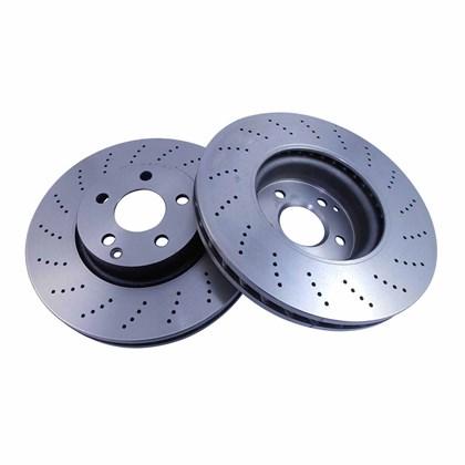 Kit Disco de Freio BD6472 Diant. Mercedes C280, C300, C350, E250, SLK250 - Cód.6340
