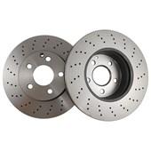 Kit Disco de Freio BD6473 Diant. Mercedes-Benz C180 / C200 / C230 - Cód.4428