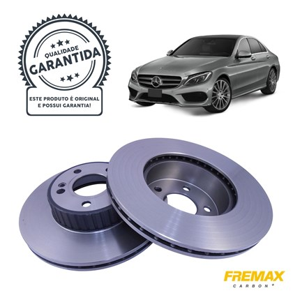 Kit Disco de Freio BD6485 Diant. Mercedes C180 1.6 / C200 2.0 Turbo (15>) - Cód.5380