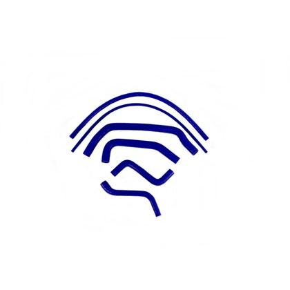 Kit Mangueiras de Arrefecimento em Silicone Azul VW Santana - Cód.977