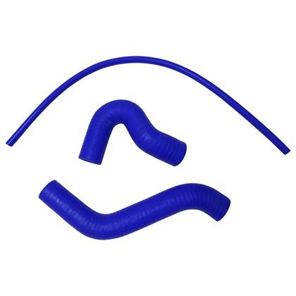 Kit Mangueiras em Silicone Azul GM Corsa - Cód.3439