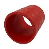 """Mangote de Silicone de Pressurização Vermelho 2 3/4"""" x 100mm - Cód.1115"""
