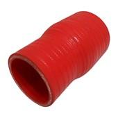 """Mangote de Silicone Vermelho Redução 2 1/2"""" x 2"""" - Cód.576"""