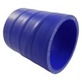 """Mangueira de Silicone Azul Pressurização 3"""" x 1 metro - Cód.266"""