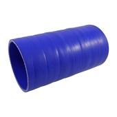 """Mangueira de Silicone de Pressurização Azul 4"""" x 1 metro - Cód.805"""