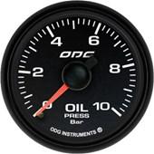Manometro Oleo 10.0 Bar Fullcolor Dakar - Cód.440