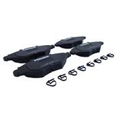 Pastilha de Freio Diant. Ferodo HQF2187 (Peugeot 206/Hoggar) - Cód.2352