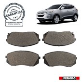 Pastilha de Freio Diant. Ferodo HQF2295A Hyundai IX35 - Cód.6646
