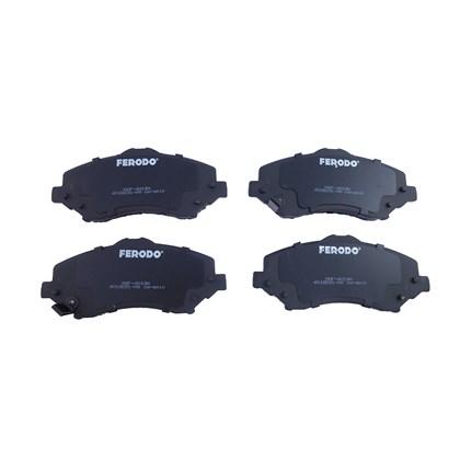 Pastilha de Freio Diant. Ferodo HQF4013A (Chrysler Grand Caravan 3.3/3.8/4.0) - Cód.3336