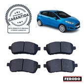 Pastilha de Freio Diant. Ferodo HQF4075 Fiesta 1.6 Sigma - Cód.5705