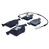 Pastilha de Freio Diant. Ferodo HQF4104A BMW 325i, 120i, 320i, Z4 - Cód.6203