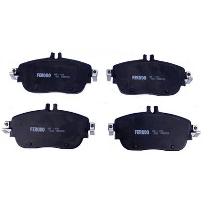 Pastilha de Freio Diant. Ferodo HQF4119 (Mercedes-Benz B200 / GLA200 / GLA250) - Cód.4323